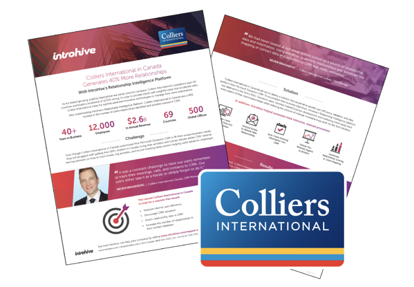 Colliers International Introhive Case Study