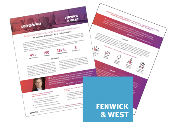 Fenwick & West Introhive Case Study