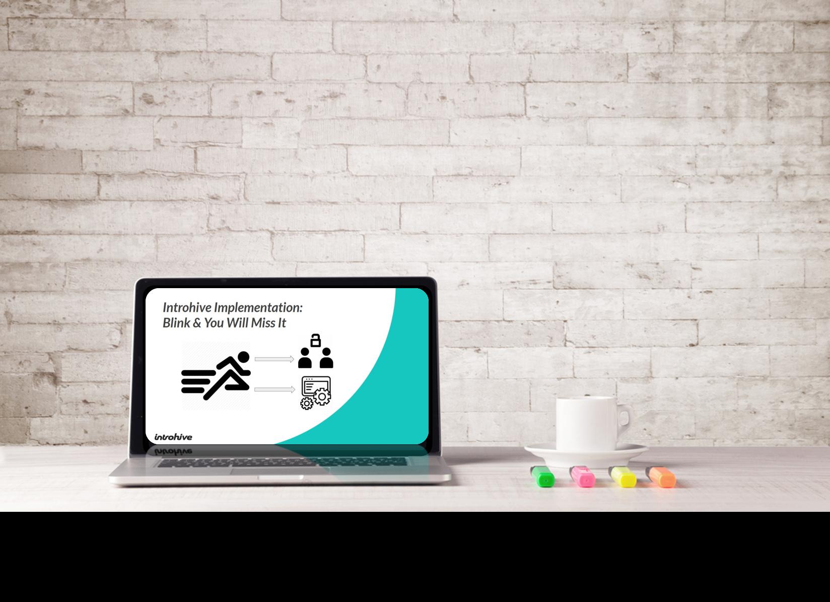 Implementation Webinar Laptop