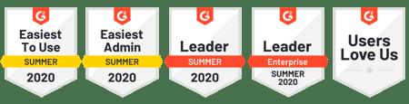 G2 Summer Badges