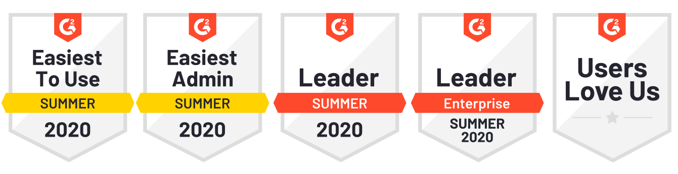G2 Summer Badges